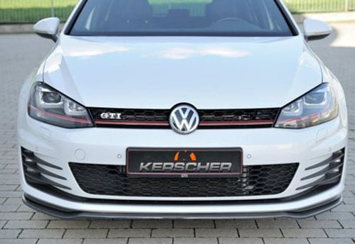 Golf 7 GTI Front Spoiler Splitter Carbon for GTI / GTD