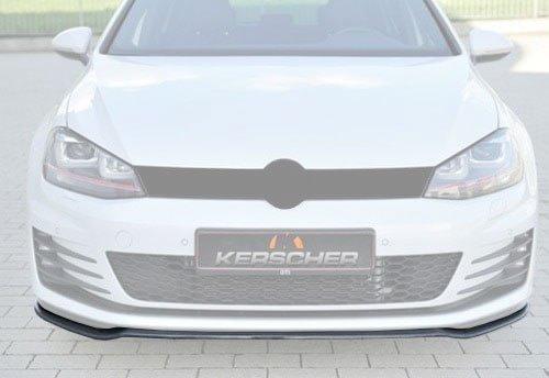 Kerscher Front Spoiler Splitter Carbon, fits Volkswagen Golf 7 GTI / GTD