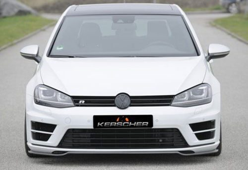 Golf 7 R Front Spoiler Splitter Carbon
