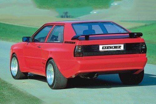 Kerscher Rear Wing, fits Audi Coupé