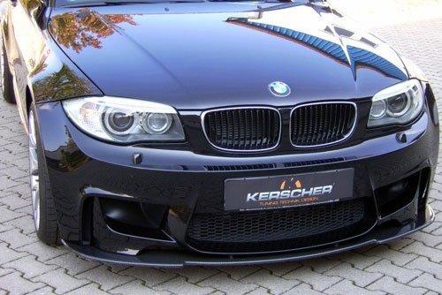 Kerscher Front Spoiler Splitter, fits BMW 1-Series E81-E88 1M Coupe