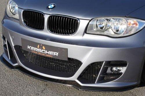 Kerscher Front Spoiler Splitter Carbon for KM2, fits BMW 1-Series E81-E88
