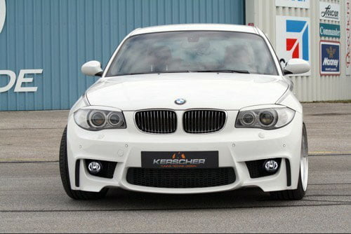 Kerscher Front Bumper M-Look for Fog Lamps, fits BMW 1-Series E81-E88