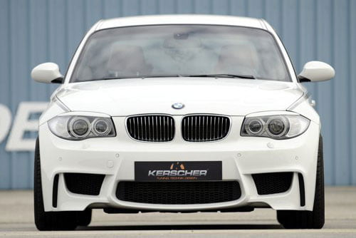 Kerscher Front Bumper M-Look without Fog Lamps, fits BMW 1-Series E81-E88