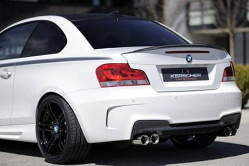 Kerscher Rear Bumper M-Look, fits BMW 1-Series E82/E88