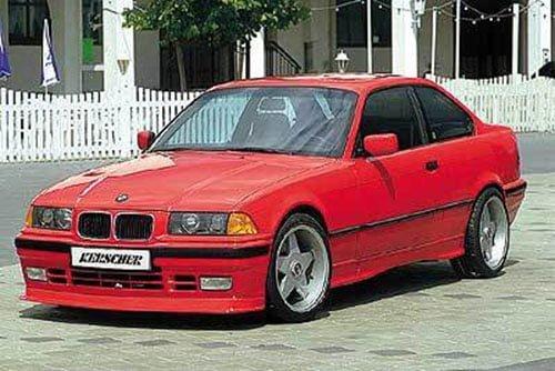 Kerscher Front Spoiler Splitter for Series, fits BMW 3-Series E36