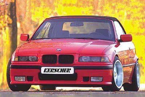 Kerscher Front Bumper Extension KMT, fits BMW 3-Series E36