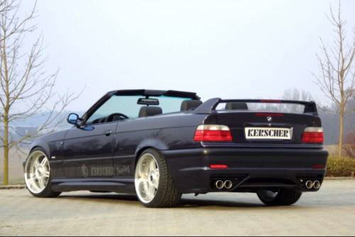 Kerscher Rear Bumper M-Line, fits BMW 3-Series E36