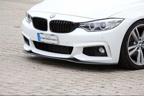 4-Series Front Spoiler Splitter for M-Technik-Bumper