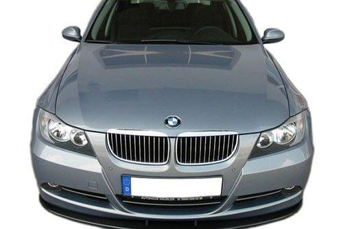 Kerscher Front Spoiler Splitter Carbon for Series with LCI, fits BMW 3-Series E90/E91
