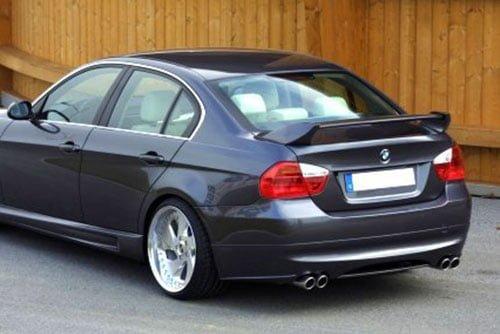 Kerscher Rear Bumper Extension Spirit for Exhaust Left-right, fits BMW 3-Series E90 08/08 (not 335i/d)