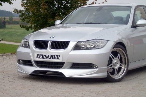 Kerscher Front Bumper Extension without Carbon, fits BMW 3-Series E90/E91