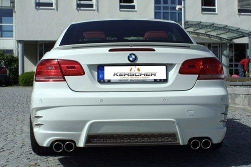 Kerscher Rear Bumper Spirit, fits BMW 3-Series E92/E93 318-330