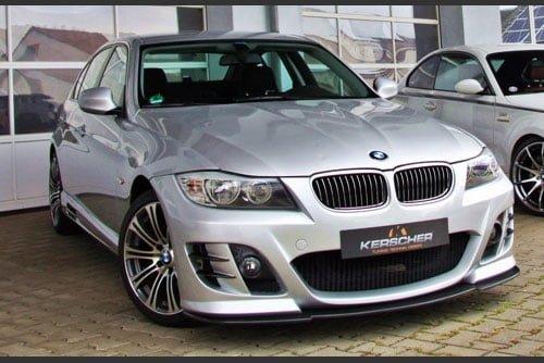 Kerscher Front Bumper Spirit 3 (also for Headlamp Washers), fits BMW 3-Series E90/E91 09/08