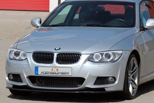 Kerscher Front Spoiler splitter Carbon for M-bumper, fits BMW 3-Series E92/E93 LCI