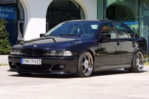 Kerscher Front Spoiler Splitter Carbon for K-Line, fits BMW 5-Series E39