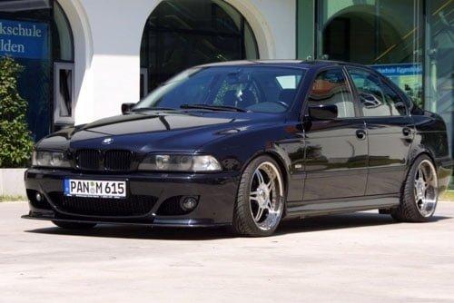 Kerscher Front Spoiler Splitter Carbon for K-Line, fits BMW 5-Series E39