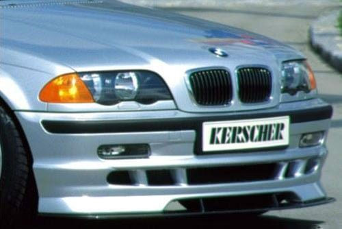 Kerscher Front Bumper Extension Sedan, fits BMW 3-Series E46