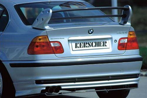 Kerscher Rear Bumper Extension, fits BMW 3-Series E46 Sedan