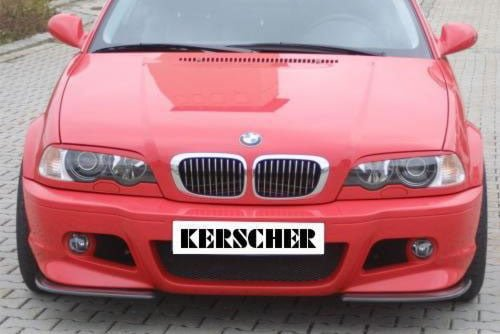 Kerscher Front Spoiler Splitter Carbon, fits BMW 3-Series E46