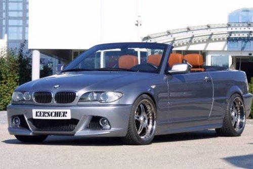 Kerscher Front Bumper M-Line 2, fits BMW 3-Series E46