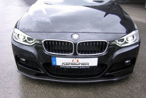 Kerscher Front Spoiler Splitter Carbon for M-Front, fits BMW 5-Series E60