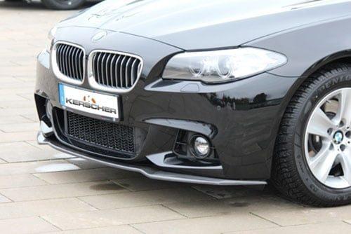Kerscher Front Spoiler Splitter Carbon for M-Front Bumper, fits BMW 5-Series F10/F11