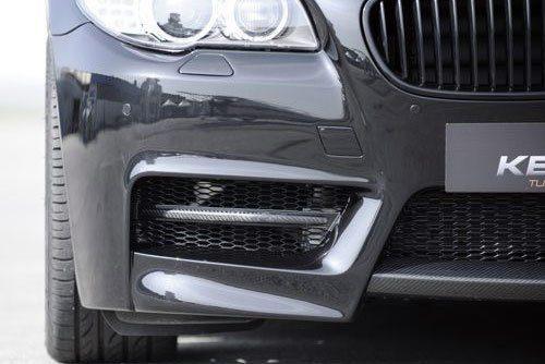Kerscher Front Bumper Fins Carbon, fits BMW 5-Series F10/F11
