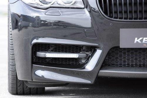 Kerscher Front Bumper Fins Fiberglass with Daylights, fits BMW 5-Series F10/F11