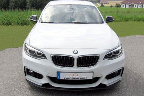 Kerscher Front Spoiler Splitter for M-Technik-Bumper, fits BMW 2-Series