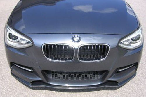 1-Series Front Spoiler Splitter for M-Technik-Bumper