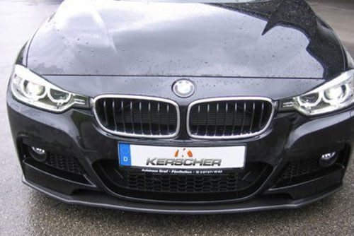Kerscher Front Spoiler Splitter for M-Technik-Bumper, fits BMW 3-Series F30