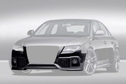 Caractere Front Bumper no PDC, fits Audi A4 B8.0