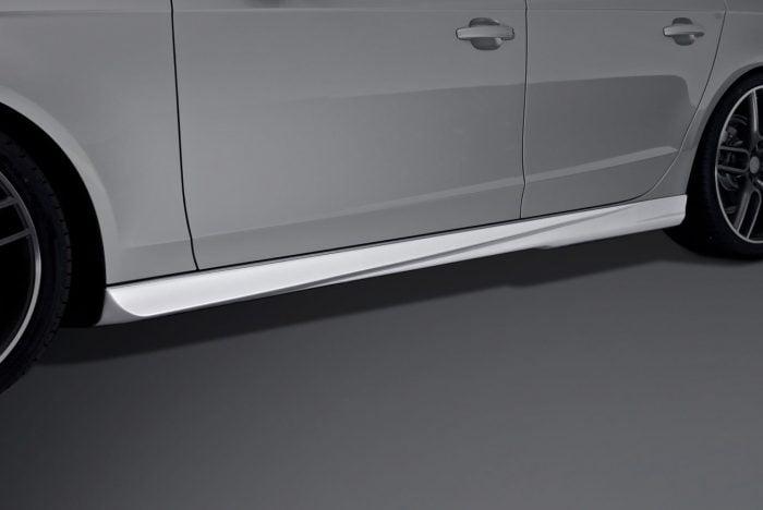 Caractere Side Skirts Set, fits Audi A4 B8.0