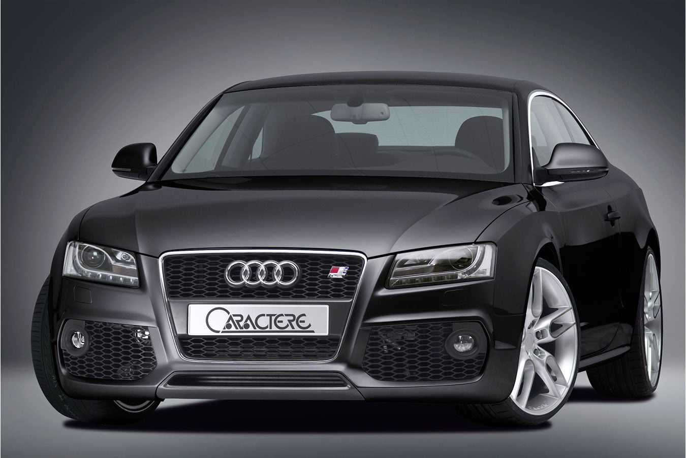 Caractere Front Bumper For Cars With Original Foglights And Parking 2011 A6 Fog Lights Sensors Fits Audi A5 B8