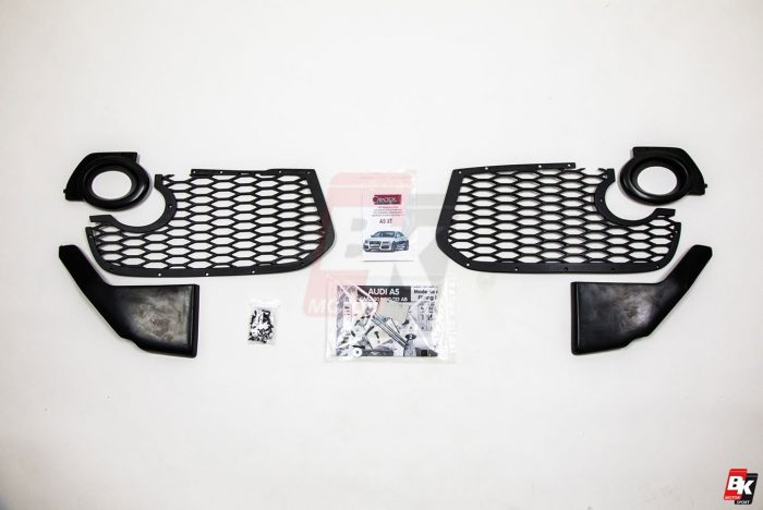 Caractere Front Bumper for Cars with Original Foglights, fits Audi A5 B8.0