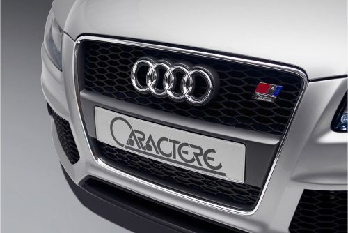 Caractere Front Grille for Cars with Parking System, fits Audi A5 B8.0