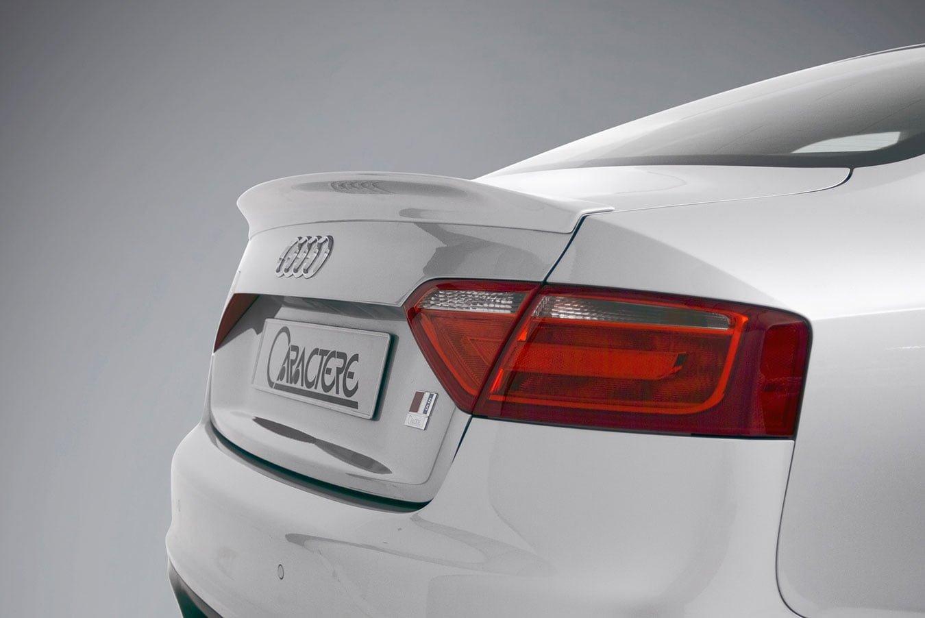 Caractere Trunk Spoiler, fits Audi A5 B8.0/B8.5