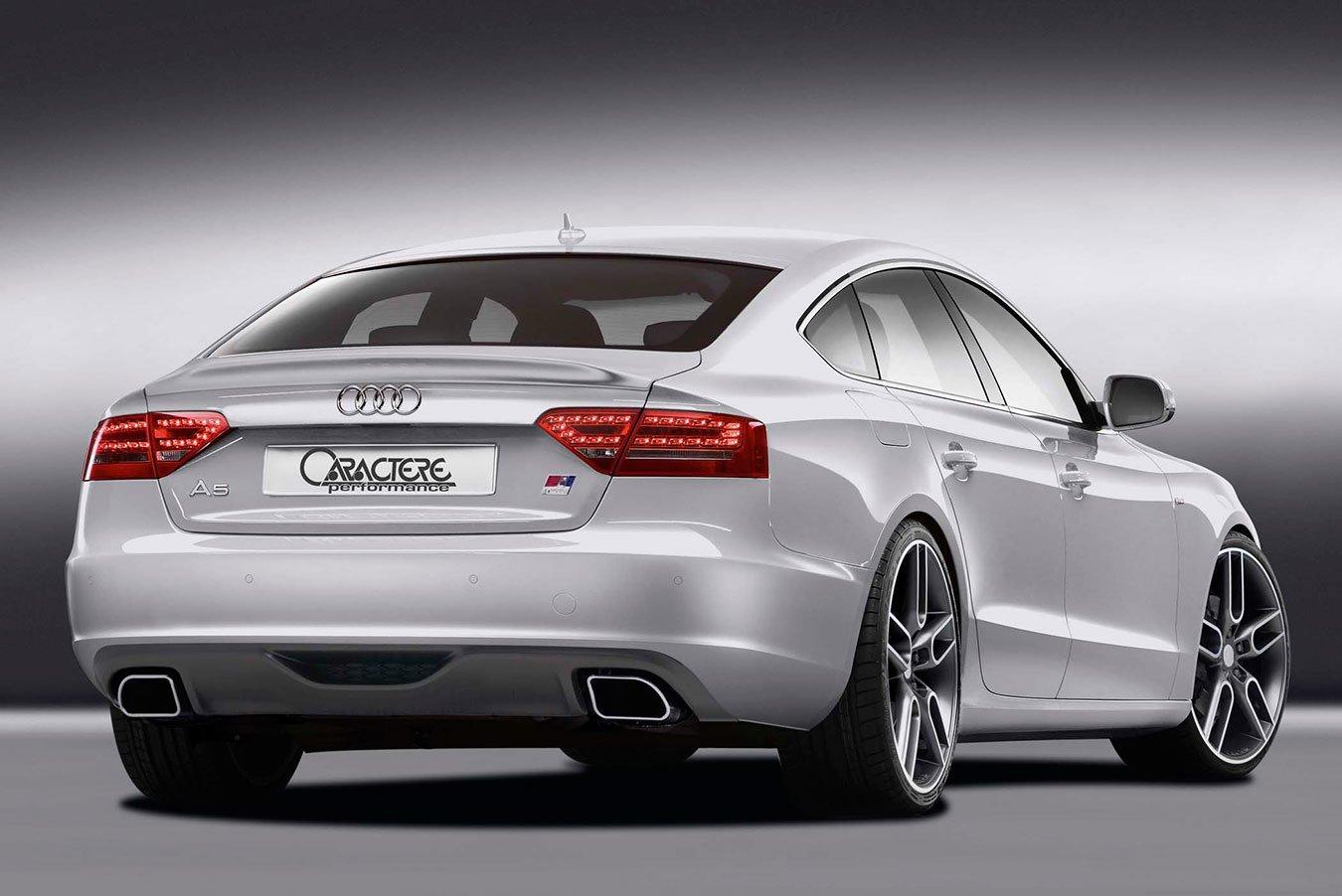 Caractere Trunk Spoiler, fits Audi A5 B8.0 Sportback