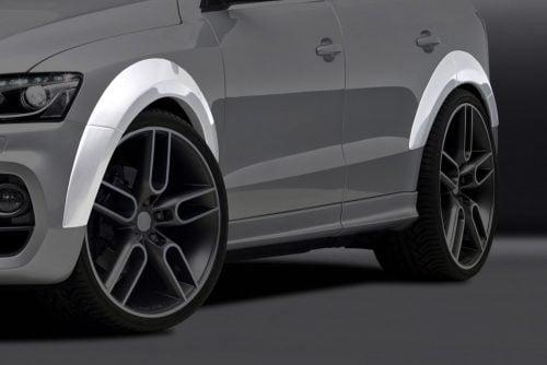 Caractere Wheel Arch Extensions for Caractere Front Bumper, fits Audi Q5 B8.0/B8.5