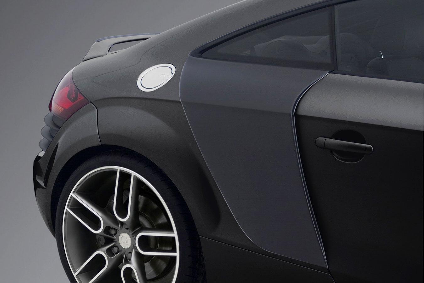 Caractere Side Vents Set, fits Audi TT Mk2 Coupe