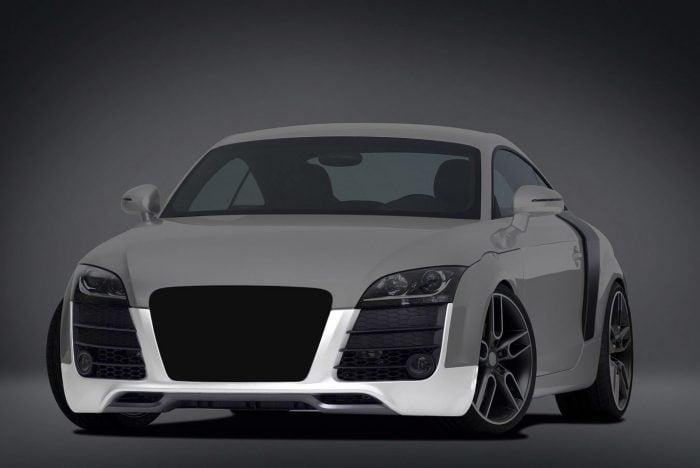 Caractere Front Bumper with Headlight Washers, fits Audi TT/TTS Mk2
