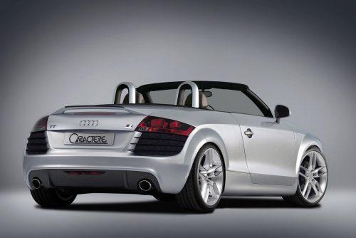 Caractere Trunk Spoiler, fits Audi TT Mk2