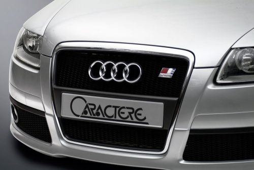 Caractere Front Grille for Cars with Front Parking Sensors, fits Audi A6 C6