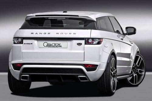 Caractere Rear Bumper, fits Range Rover Evoque