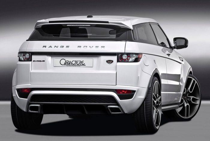 Range Rover Evoque Rear Bumper