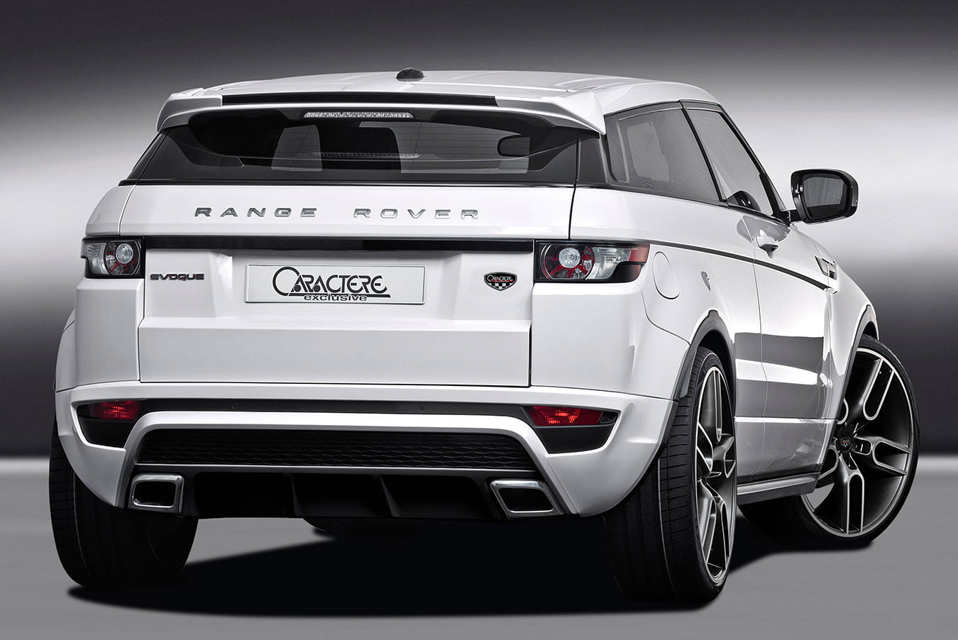 range rover evoque rear bumper bk motorsport. Black Bedroom Furniture Sets. Home Design Ideas