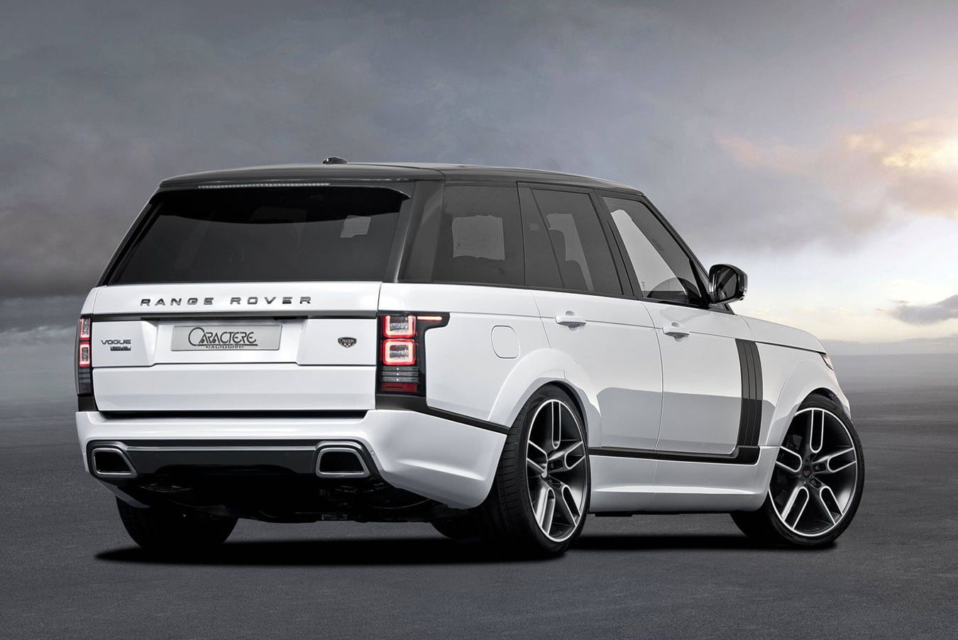 Range Rover Side Skirts Set
