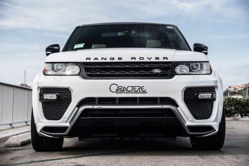 Caractere Front Bumper, fits Range Rover Sport L494