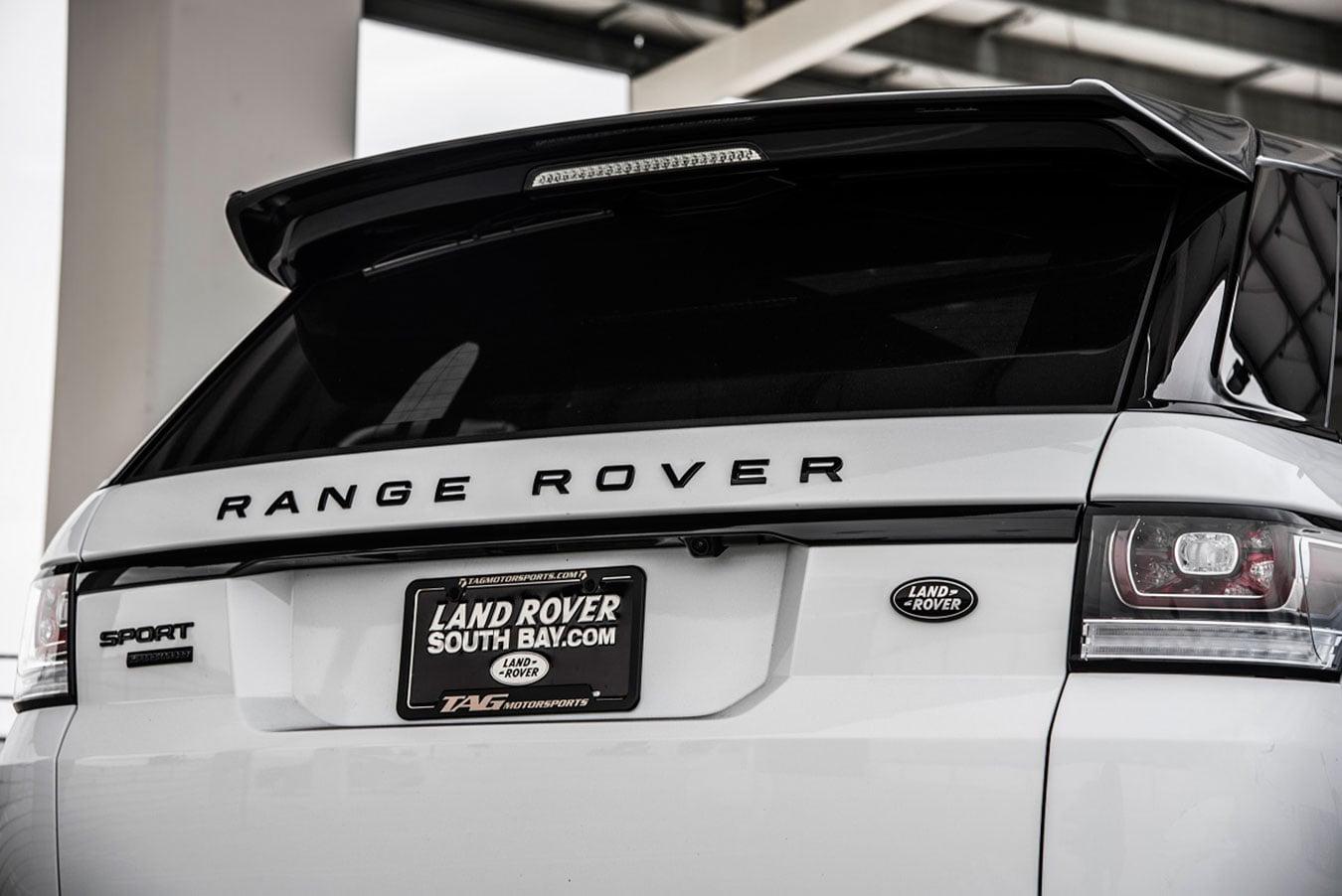 Range Rover Sport Roof Spoiler